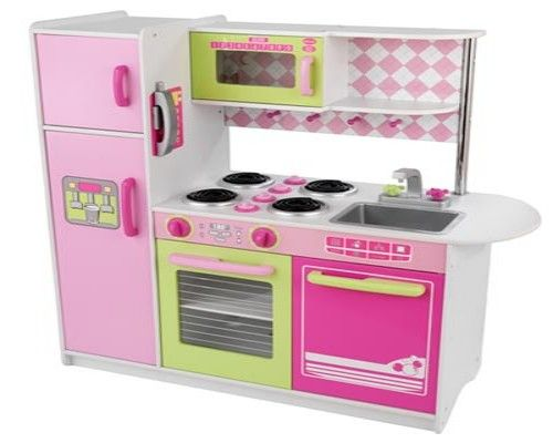 Girls play kitchen for the kids pinterest for Kids kitchen set
