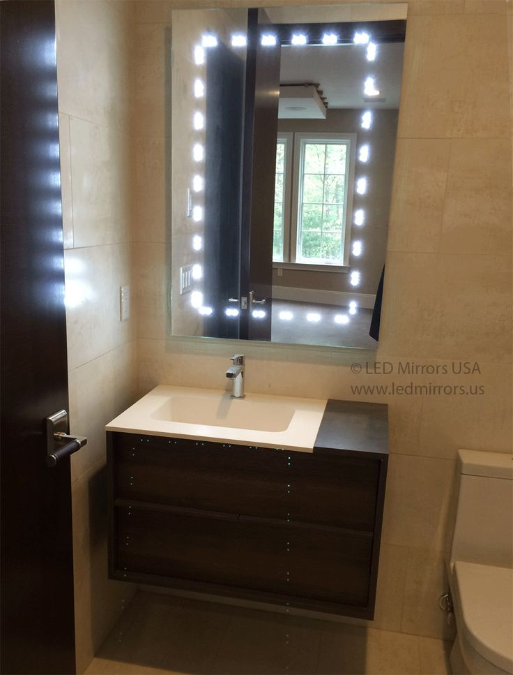 Amazing  Mirror T04xd  Modern  Bathroom Mirrors  Tampa  By LED Mirrors USA