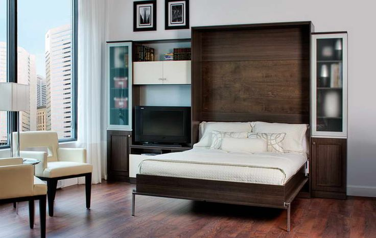 ikea hacker murphy bed with white seat for the home pinterest. Black Bedroom Furniture Sets. Home Design Ideas