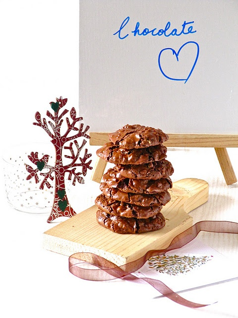 Chocolate Puddle Cookies: Gluten free, dairy free