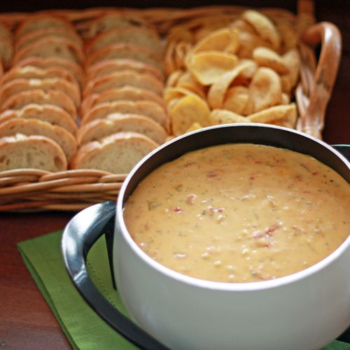 Chile Con Queso Dip | Foods & Drinks | Pinterest