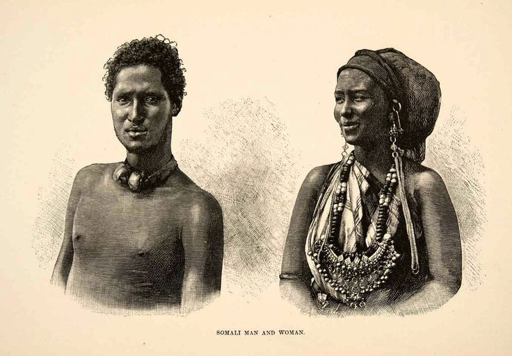 nomadamsterdam: Somali man and woman.