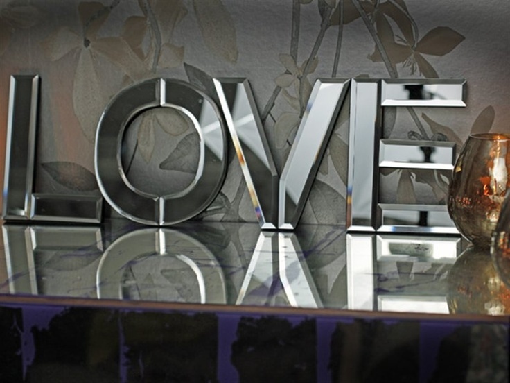 mirrored love letters With mirrored love letters