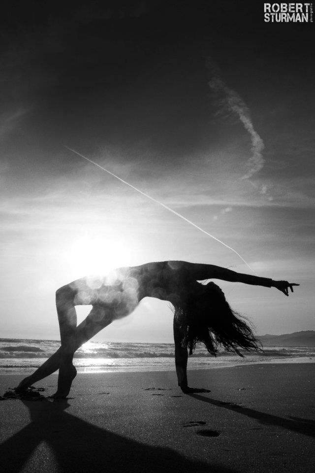 Black and white photography yoga woman beach           Martial ArtsYoga Images Black And White