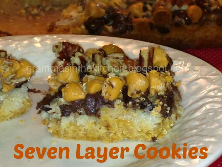 Seven-layer Cookies Recipe — Dishmaps