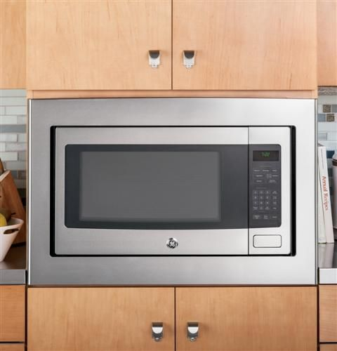 Microwave that goes with double oven kitchen laundry for Built in microwave oven 24 inch