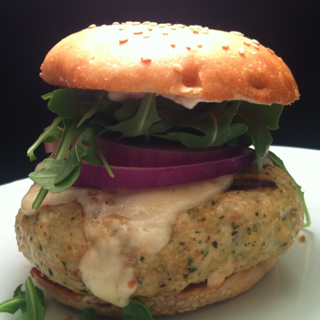 cheese burgers beef and andouille burgers with asiago cheese recipe ...