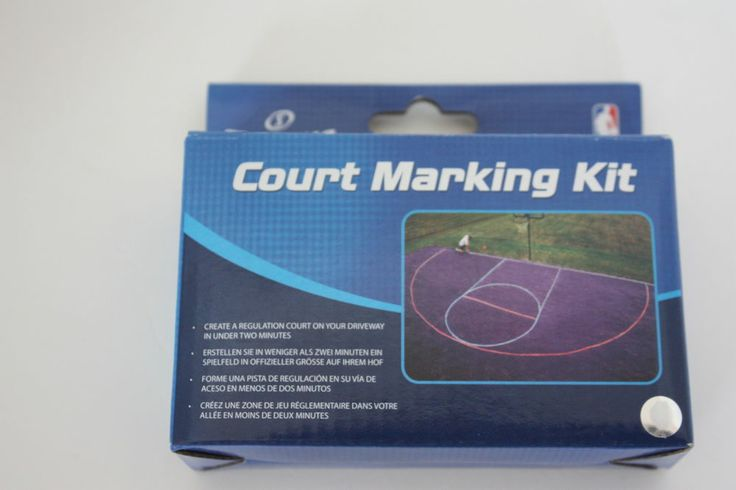 Spalding basketball court marking kit create a regulation for Design your own basketball court