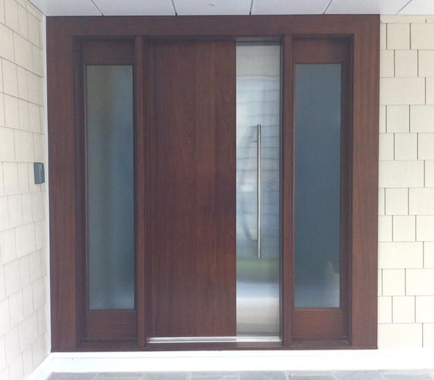 Contemporary exterior wood front entry doors dbyd 5014 mid century