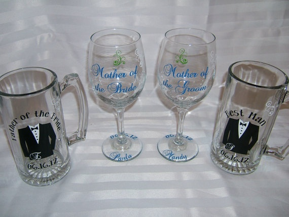 wedding gifts for parents of the bride and groom by