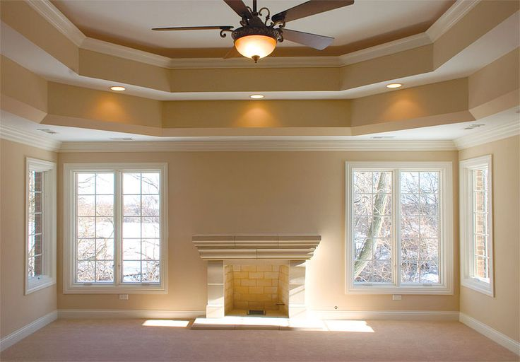 Tray Ceilings Add Height For The Home Pinterest