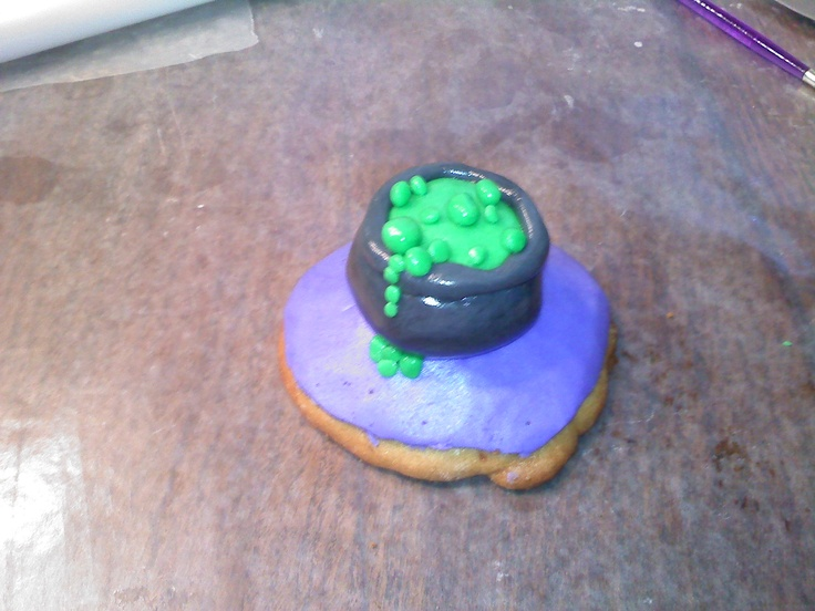 "witches brew pot cookie | Rachele Richardson's ""Just Baked!!!"" ..."