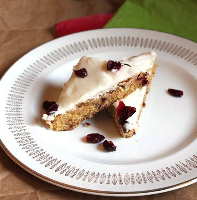 Cranberry Bliss Bars - Love these at Starbucks...I know the homemade ...