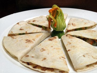 and tomatoes squash blossom quesadillas with bacon and tomatoes squash ...