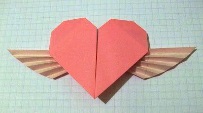 valentine box origami