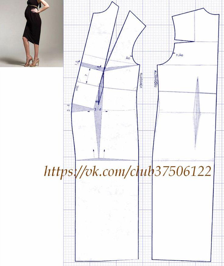 Одежда для беременны выкройки 41