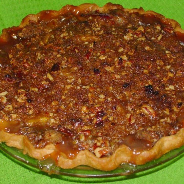 Pecan Praline Peach Pie | Pie | Pinterest