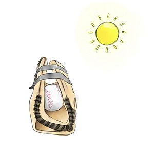 Breaking In A Baseball Glove With Water 12