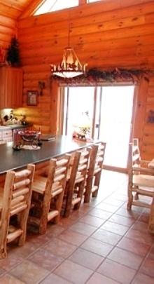 Rustic Window Treatment Ideas Log Home Interiors Pinterest