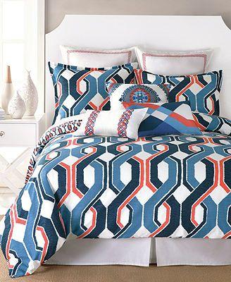 Trina turk coastline ikat comforter and duvet cover sets