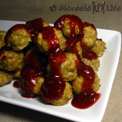 Cranberry Glazed Meatballs | Recipe