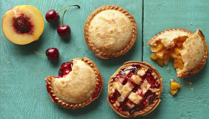 Peach & Cherry Sweetie Pies | sweet-lish | Pinterest