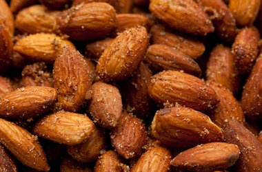 Sweet and Spicy Chinese Five Spice Roasted Almonds — Punchfork