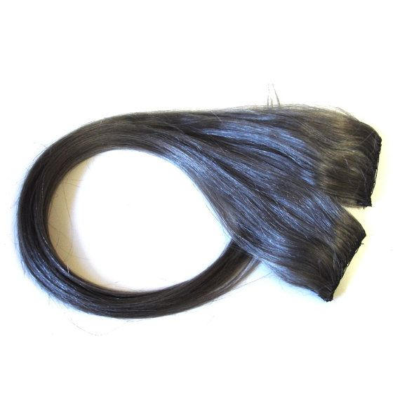 Silver Grey Clip In Hair Extensions 112
