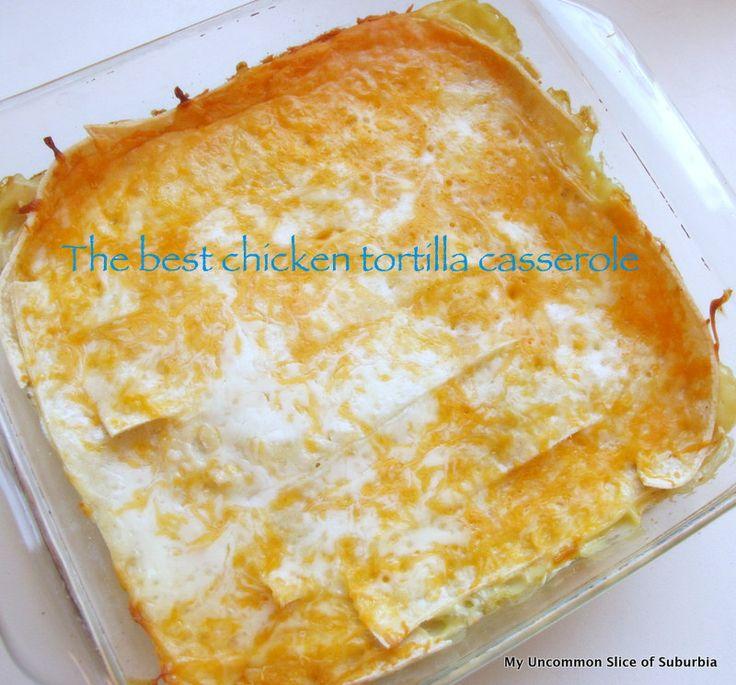 Yummy Chicken Tortilla Casserole | Food & Drinks | Pinterest