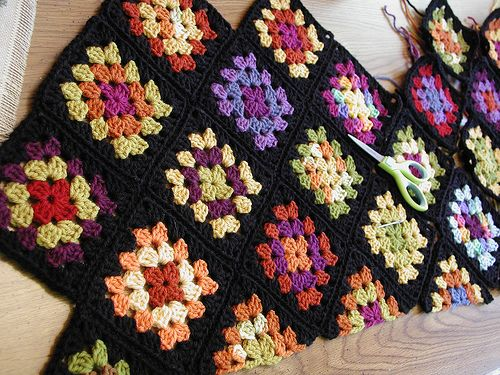 Granny Square Tote Bag : Granny Square Tote Bag Crochet Tips and Tricks Pinterest