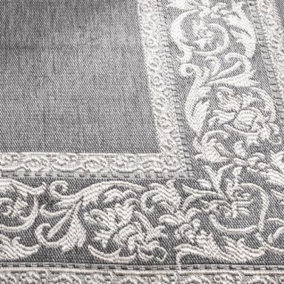 Frontgate Medallion Outdoor Rug Family Room