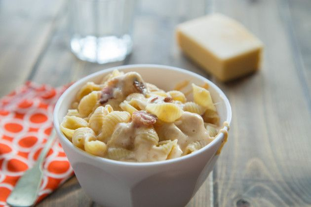 ... nevertheless (added chicken to mine) Healthy Mac and Cheese Recipe