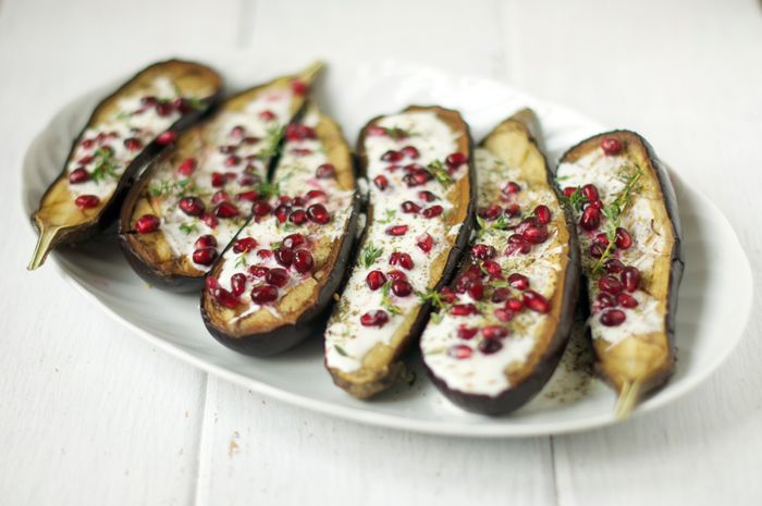 Aubergines with Buttermilk Sauce | Sweet Summertime | Pinterest
