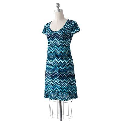 ab studio zigzag shift dress my style pinterest