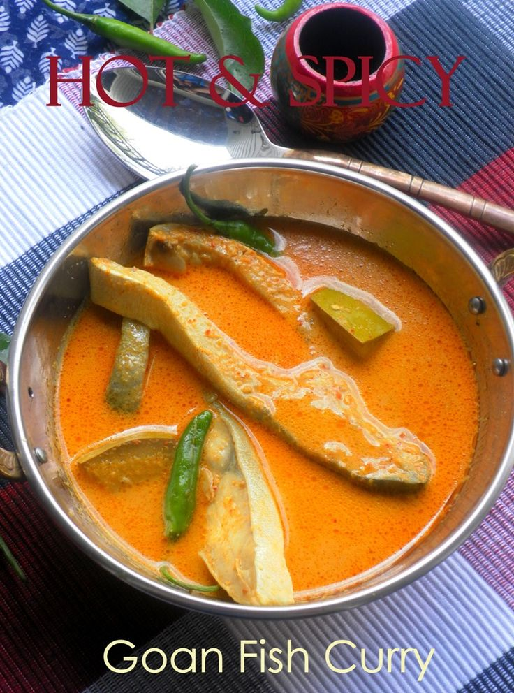 Goan Fish Curry | Indian | Pinterest