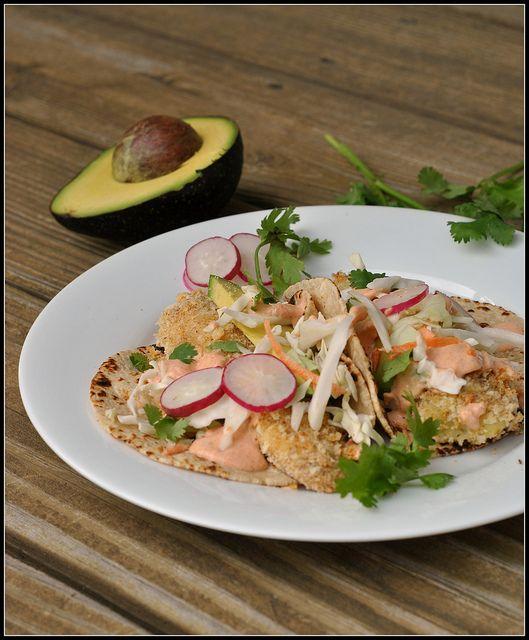 Crispy Tilapia Fish Tacos | recipes to make... | Pinterest