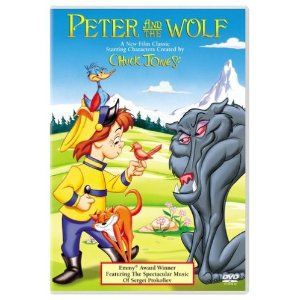 Having trouble finding a Peter and the Wolf book that I really like.  I'll bet Chuck Jones probably got it right.  Have to check this out.