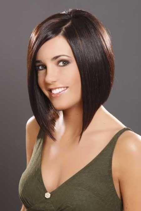 Фото стрижек удлиненное каре на средние волосы с челкой
