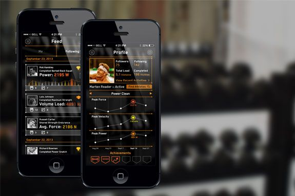 weight lifting tracking iphone app