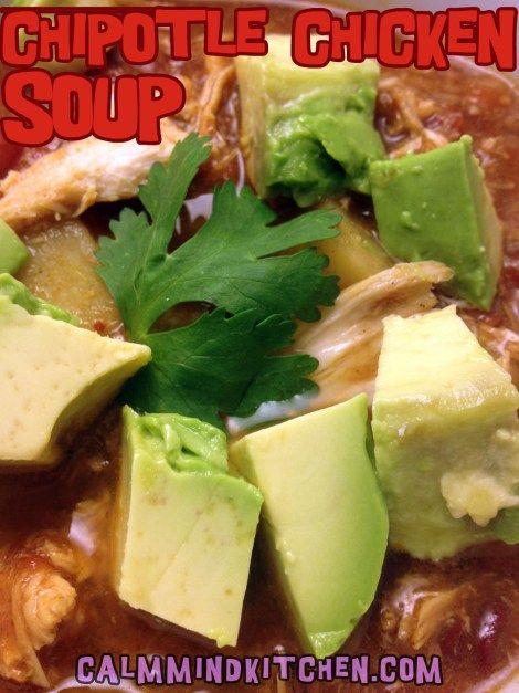 paleo Chipotle Chicken Soup: 2 lbs chicken, raw; 2 C chicken broth ...