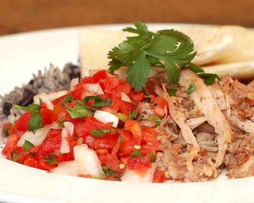 Be a Pepper Carnitas: Dr. Pepper braised pork shoulder, ancho chiles ...