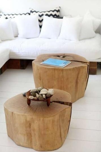 Mesas tronco