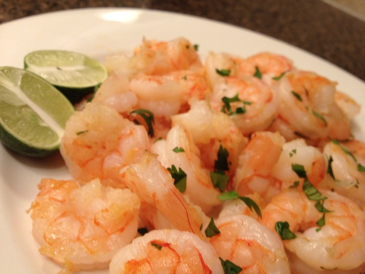 Day #28 ~ Cilantro Lime Shrimp. In keeping with the theme of healthier ...