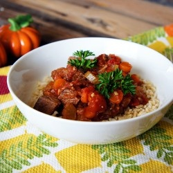 Slow Cooker Beef and Tomato Stew | Crockpot Recipes | Pinterest
