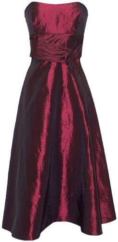 Taffeta formal gown holiday party cocktail dress bridesmaid prom xl