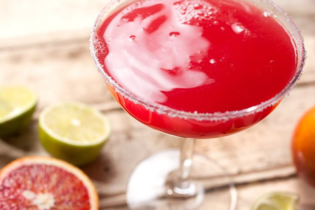 John's Blood Orange Margarita 2 ounces tequila blanco (such as Patron ...