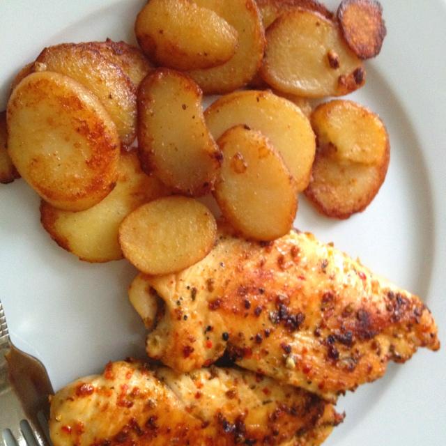 Healthy living- day2 - dinner Grilled marinated chicken with oregano ...