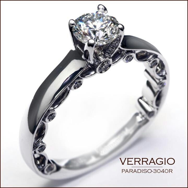 simple n beautiful engagement and wedding rings
