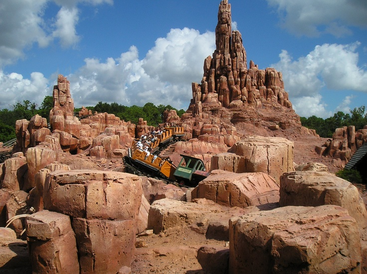 big thunder mountain railroad - photo #22