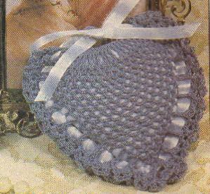 Green Mama: Crochet heart sachet pattern - blogspot.com